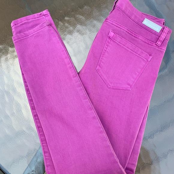 Blank NYC Denim - [Blank NYC] Magenta coloured jeans